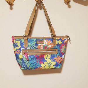 Lily Bloom floral tote